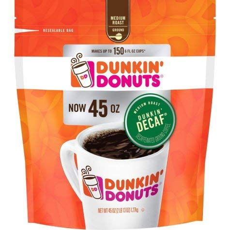 Dunkin' Donuts Original Blend Decaffeinated Ground Coffee (45 oz.) by Dunkin' Donuts