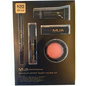 MUA Makeup Academy Professional: Makeup Artist Must Haves Kit (5 Piece Set)