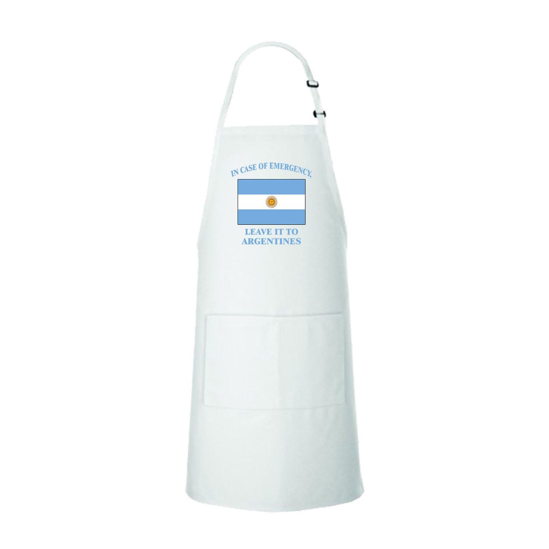 In Emergency Leave It Argentines Argentine Argentina Bib Kitchen Apron