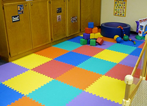 We Sell Mats 1/2-inch Multi-Purpose, Lime Green, 16 Sq Ft (4 Tiles) by We Sell Mats (Image #8)