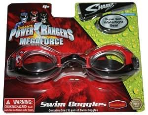 Power Rangers Megaforce Swim Goggles Super Soft Watertight Seal