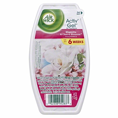 Air Wick Activ' Gel - Magnolia & Cherry Blossom 4 oz. (Pack of ()