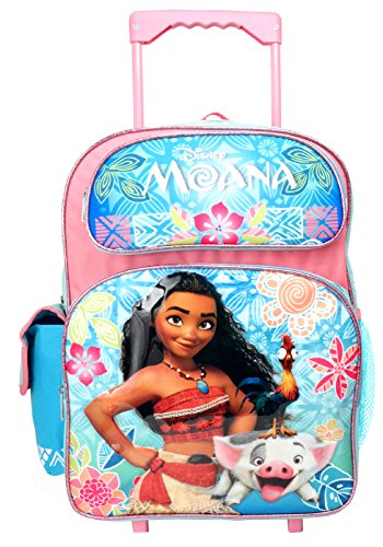 Disney Moana 16 inches Rolling Large Backpack - New with Tags