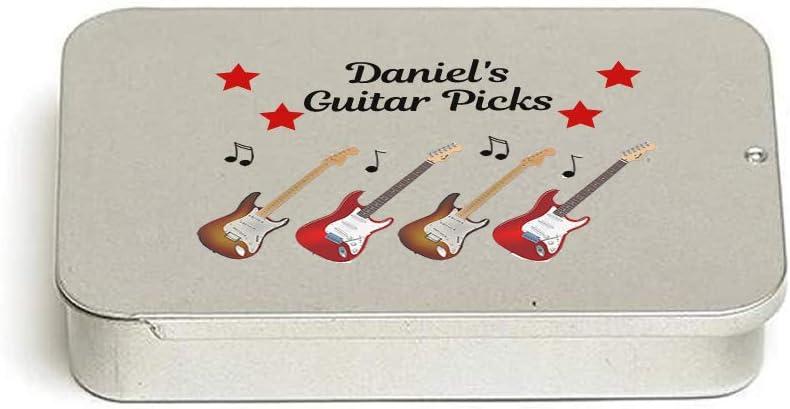 12 PERSONALISED CUSTOM PLECTRUMS PICKS electric or acoustic guitar