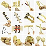 Interactive Kids Musical Instruments, Educational, Learning, Teaching, Early Development Toys for 2, 3, 4, 5, 6 Year Olds Boys Girls Kids Preschool Percussion Set, 2018 NEW Ver. - iPlay, iLearn