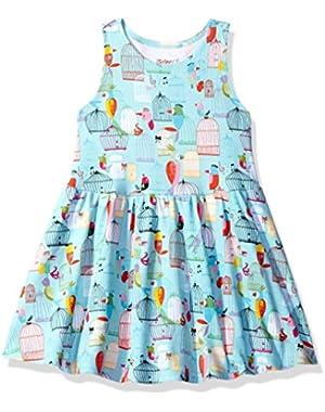 Baby Toddler Girls' Cotton Tank Dress