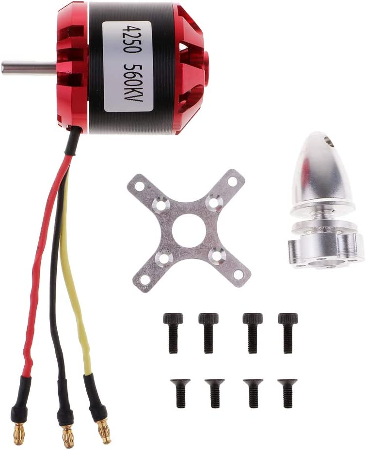 RC Fixed-Wing Aircraft C4250 560KV Diameter 42mm 3-8S Alloy Brushless Motor