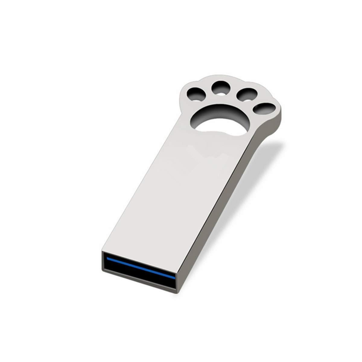 FeliSun Memoria Flash USB 3.0 16 GB 32GB 64GB,Unidad Flash USB 3.0 con Llavero,Metal Tarjeta de Memoria U Disk Memoria USB Regalo Creativo (16GB)