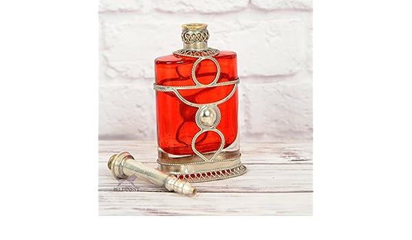 Marroquí plana de frasco de Perfume): Amazon.es: Hogar
