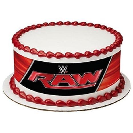 Amazoncom Whimsical Practicality WWE Raw Edible Icing Image Cake