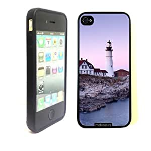 iphone covers Portland Head Lighthouse - Protective Designer BLACK Case - Fits Apple Iphone 6 plus / 4G