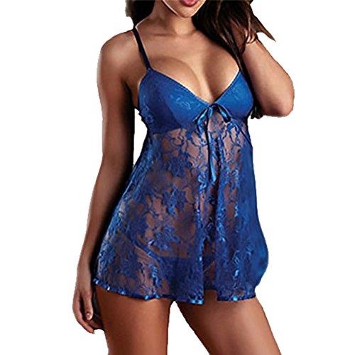 STEKOST - Salto de cama - para mujer Azul