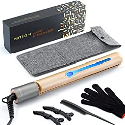 NITION Professional Salon Hair Straighte...