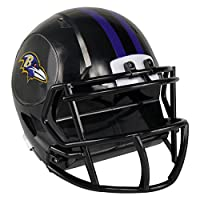 NFL Baltimore Ravens Abs Helmet Bank, Black, One Size