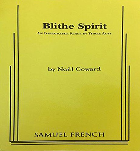 a comical review of noel cowards novel blithe spirit Blithe spirit written by noel coward was first published in 1941 of the characters in a comical way an example of this is when elvira tampers with the breaks on the car and ruth while as coward states, blithe spirit is an improbable farce, in which things are supposed to fly to and fro(fulton 465.