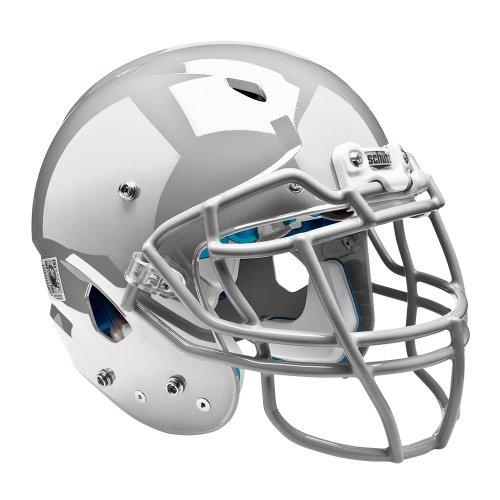 silver football helmet - 8