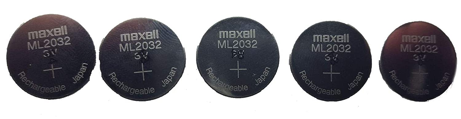 2x New Original MAXELL ML2032 Rechargeable LITHIUM-ION 2032 3V RTC BIOS BATTERY
