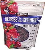 #2: Kirkland Signature Berries and Cherries Dried Fruit Blend, 20 Ounce