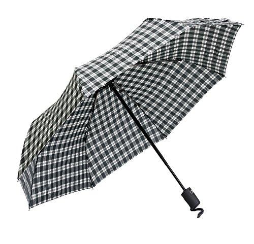Frankford Umbrella (Elite Rain's Couture Collection Mini Triple-Fold Umbrella (Plaid))