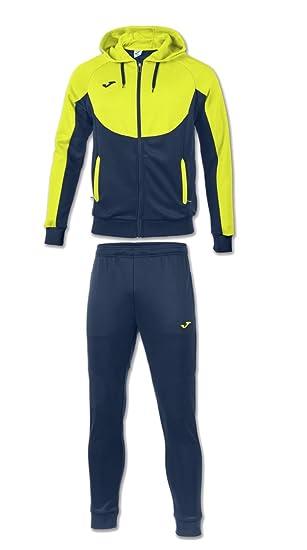 Joma Essential Tracksuit Trainingsanzug schwarz türkis