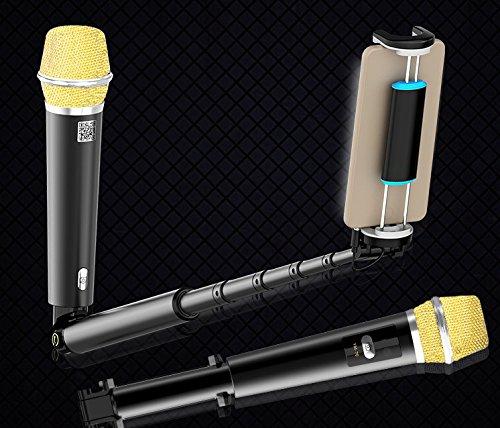 Geelyda Extendable Karaoke Microphone Andriod