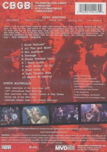 DEAD BOYS - Live at CBGB's 1977 by Mvd Visual