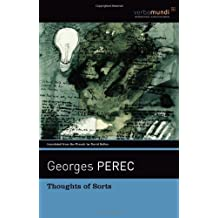 Thoughts of Sorts (Verba Mundi) by Georges Perec (2009-08-30)
