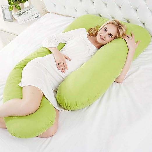 Aich Almohada de Embarazadas Almohada de Dormir Lateral ...
