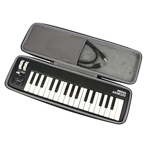 co2CREA Hard Case for Midiplus AKM320 MIDI Keyboard Controller dd545 by Co2Crea (Image #3)