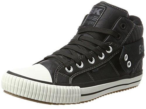 Chevaliers Britanniques Hommes Roco Noir Haute Sneaker (noir)