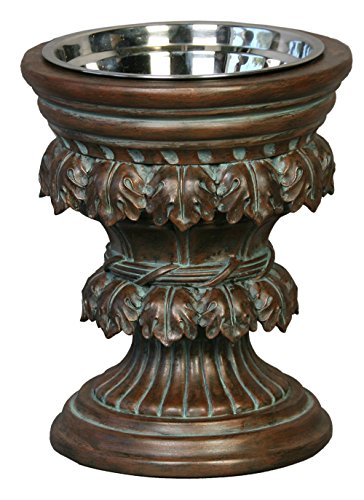 Unleashed Life Baroque Collection Old World Raised Feeder, Large by Unleashed Life (Image #2)