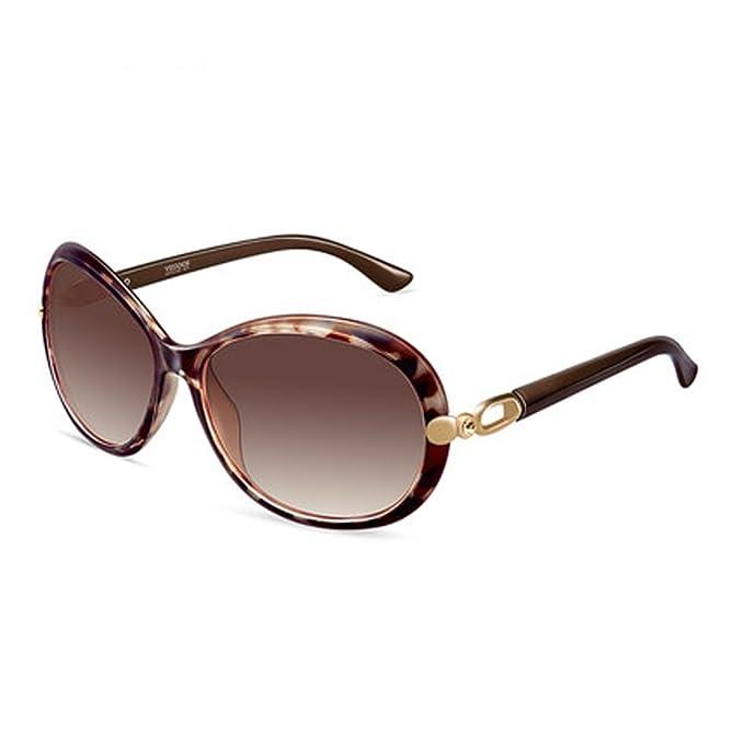 Gafas de sol de mujer nuevas gafas de sol polarizadas retro conducción grandes gafas de sol