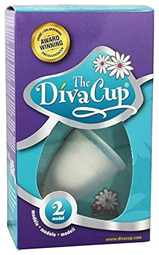 Menstrual Diva Cup (Mentrual Cups Model 2 (Large),for Women Over Age 30,or Those who Have Delivered vaginally or by caesarean Section regardless of Age.)