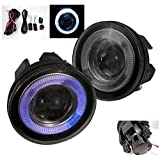 ZMAUTOPARTS Dodge Dakota Durango Pickup Halo Projector Bumper Smoke Fog Lights +Switch