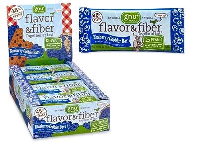 Gnu Flavor & Fiber Bars, Blueberry Cobbler, 25.4 oz, 16 ct from GNU Foods