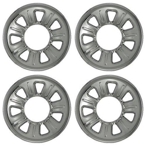 2001 Chrome Wheels - Set of 4 Chrome Wheel Skin Hubcaps: Ford Ranger (2001 - 2011) & Mazda B series (2001 - 2010) 15x7 Inch 5 Lug 7 Slot Steel Rim -Aftermarket: IMP/21