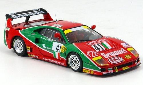 Ferrari F40 LM, No.41, 24h Le Mans, 1995, Model Car, Ready-made, IXO 1:43