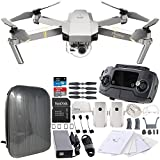 DJI Mavic Pro Platinum Collapsible Quadcopter Hardshell Backpack Essential Bundle