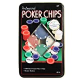 100 Piece Professional Poker Chip Set