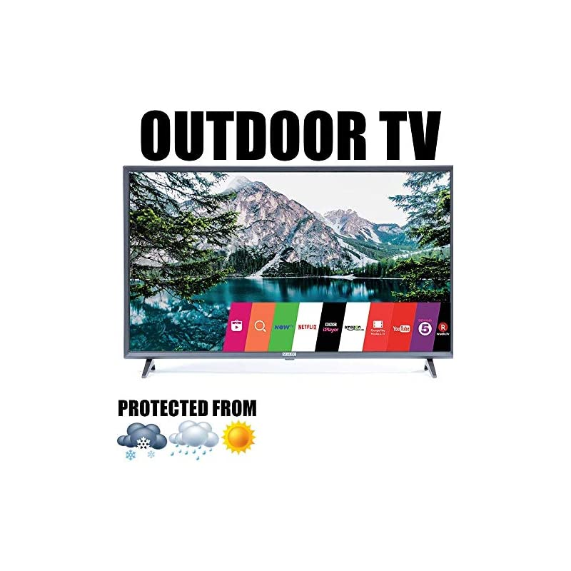 "Outdoor TV Full Weatherized 43"" UHD Smar"