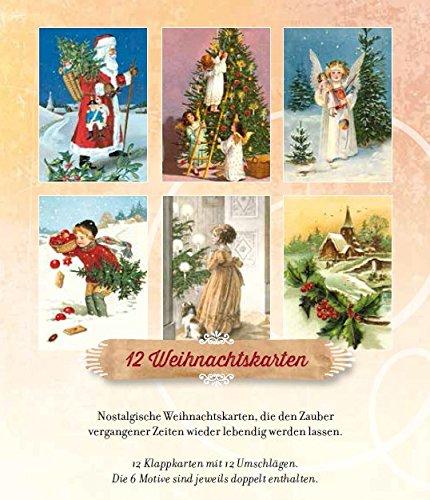 Nostalgische Weihnachtskarten Kaufen.Wunderschöne Weihnachtsgrüße 12 Nostalgische Weihnachtskarten