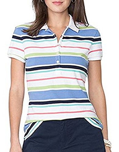 Chaps Striped Polo - 8