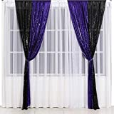 Eternal Beauty Glitter Sequin Backdrop Curtains for