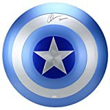 Chris Evans Autographed Captain America Film Stealth Shield