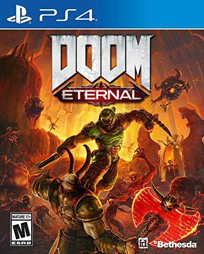 Developed by id Software,  DOOM Eternal  is the direct sequel to the award-winning and best-selling DOOM (2016). Experience the ultimate combination of speed and power with the next leap in push-forward, first-person combat. As the DOOM Slayer, you r...
