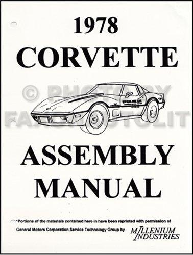 1978 Corvette Factory Assembly Manual (Assembly Manual)