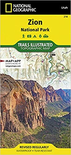 Zion National Park: National Geographic Trails Illustrated Utah: NG on