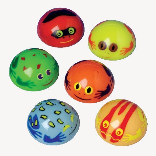 Kid Fun Products Frog Poppers Toy (12 Pack)