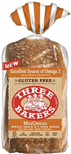 (Three Bakers Max Omega Whole Grain & 5 Seed Bread {2 Pack} )