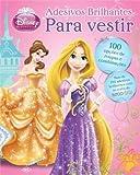 capa de Adesivos Brilhantes - Coleção Disney Vista as Princesas